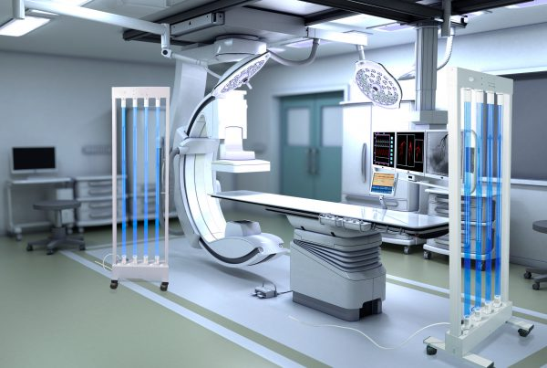 Germicidial Light technology put into good use in medical room