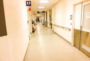 Corridor in Hospital